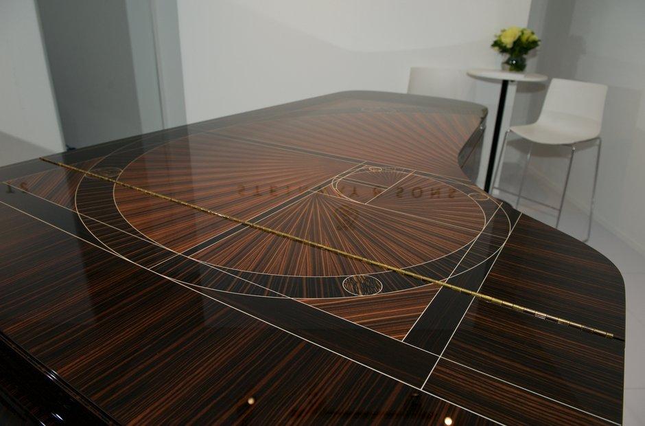 Steinway Fibonacci piano