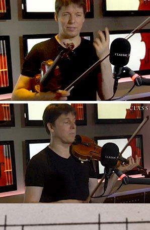 Joshua Bell at Classic FM