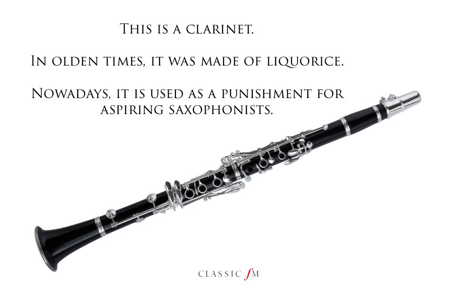 clarinet Musical instruments explained: a beginner