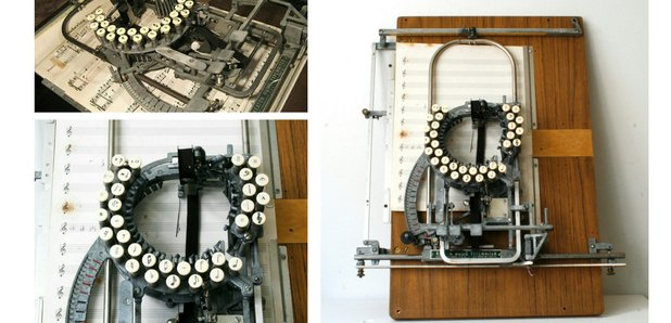 1953 Keaton Music Typewriter