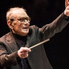 Ennio Morricone conducts