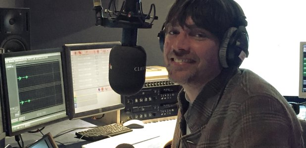 Alex James studio Classic FM