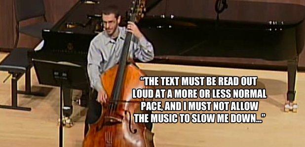 double bass failing