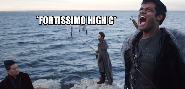 Forte sing Game of Thrones