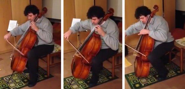 cello endpin collapse