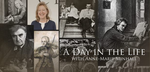 Day in the life Anne-Marie Minhall