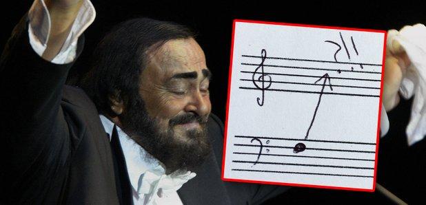 pavarotti vocal range