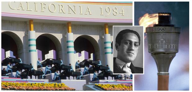 Gershwin LA 1984 olympics