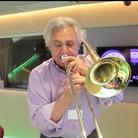 John Suchet plays Cinema Paradiso on trombone