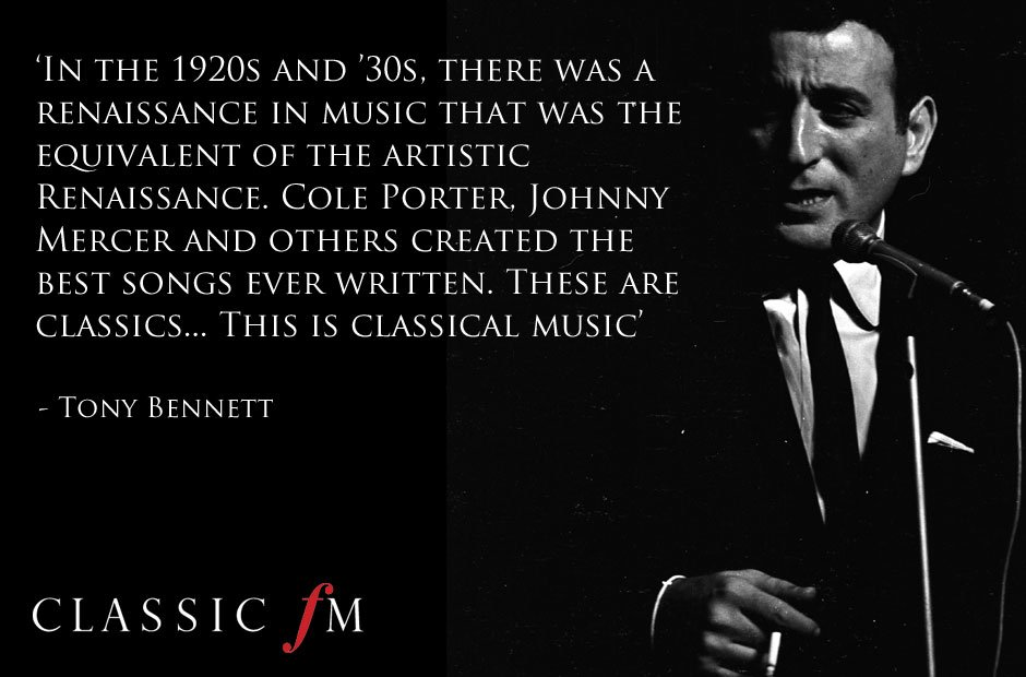 Tony Bennett on classical music