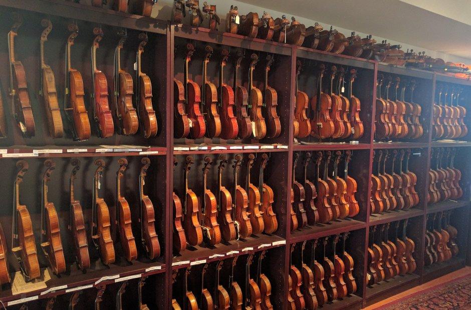 Bromberg Fiddles