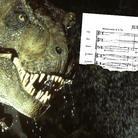 Jurassic Park dinosaur and score