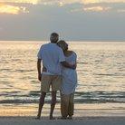 Mature Couple On Beach