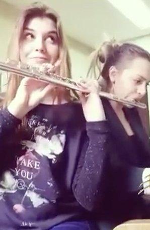 Mozart flute duet