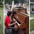 louisiana flood pianist